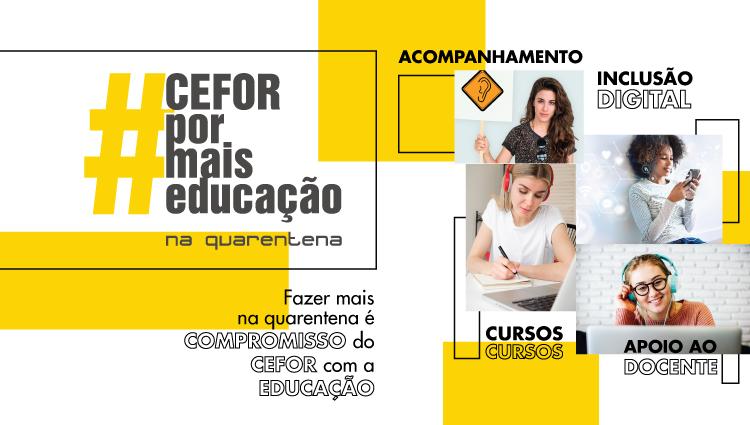 Cefor - Ifes continua trabalhando para promover educação pública, gratuita e de qualidade durante a pandemia de Covid-19